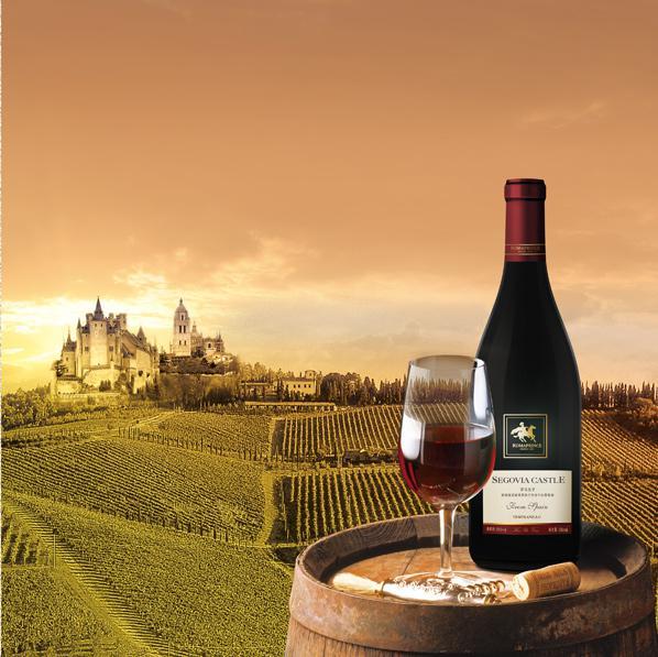 塞哥维亚城堡添普兰尼洛干红葡萄酒<br>Segovia Castle Tempranillo Red Wine