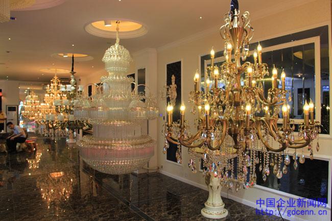 热烈祝贺中山市德瑞雅照明科技公司智能化灯饰展厅