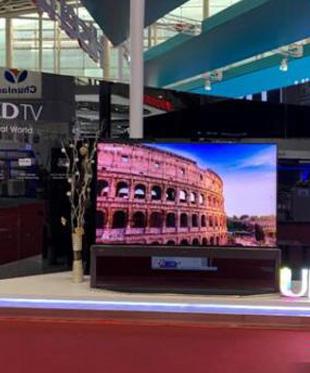海信屏幕发声激光电视亮相广交会 出海数据再创新高