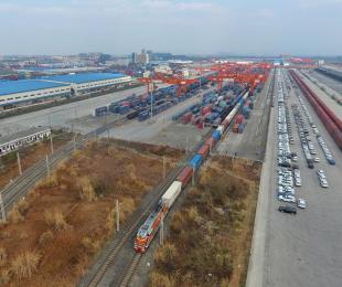 中欧班列(成都)开行量较去年同期增长80%