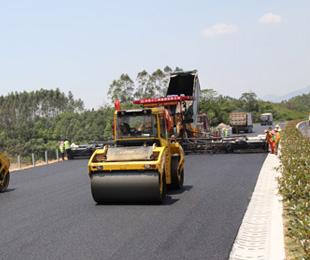 惠清高速项目路面工程沥青上面层试验段成功铺筑463303