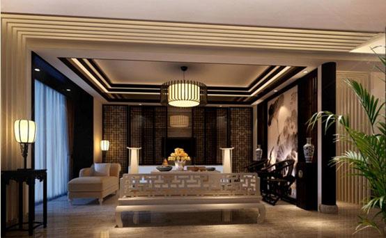 肇庆市城东新区潘宅别墅中式设计 营造中式文化氛围