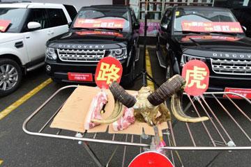 杭州问题车展:百余车主维权 价格从十几万到上百万不等
